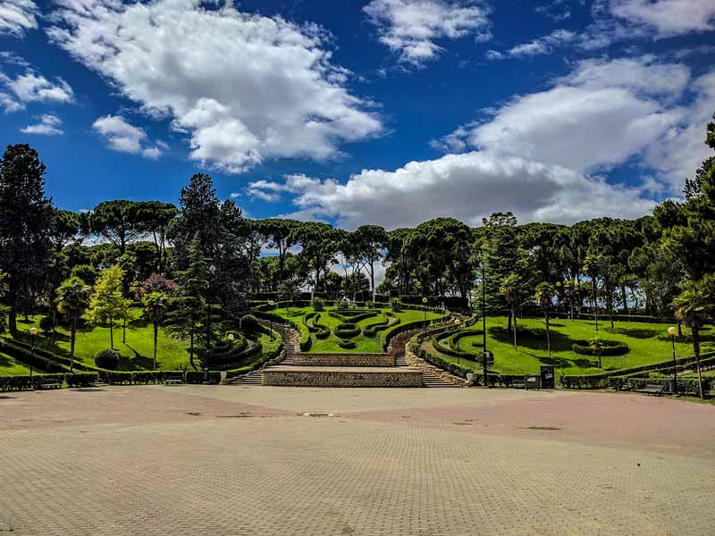 Jardín de Invierno de Zaragoza
