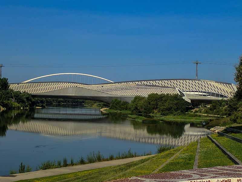 Puentes de Zaragoza: Pabellón Puente