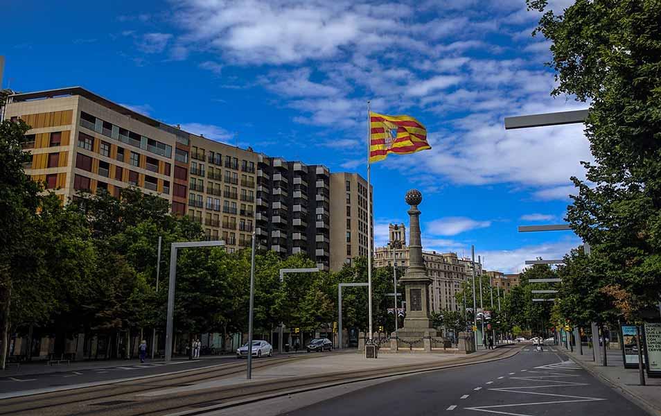 Plaza de Aragón de Zaragoza