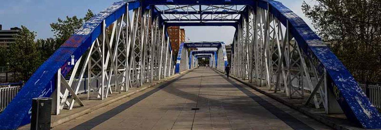 Puente de Hierro de Zaragoza