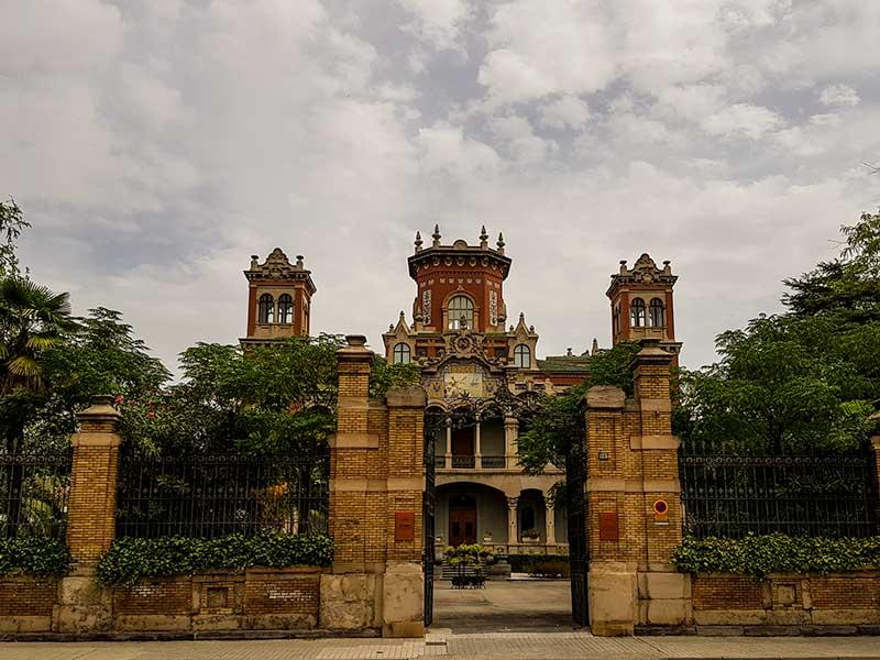 Recinto del Palacio de Larrinaga