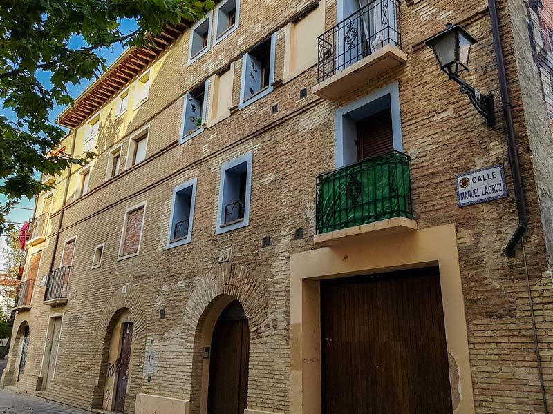 Calle Manuel Lacruz - Zaragoza