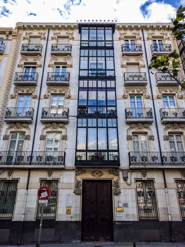 Casa Corsini de Paseo Sagasta 19 de Zaragoza