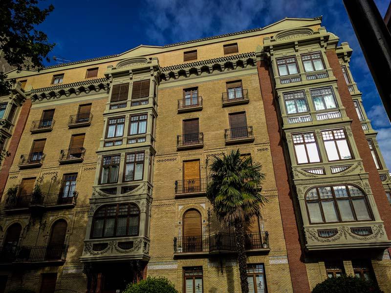 Casa Figueras del Paseo Sagasta 40 de Zaragoza