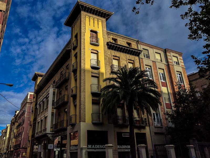 Casa Hournet del Paseo Sagasta 30 de Zaragoza