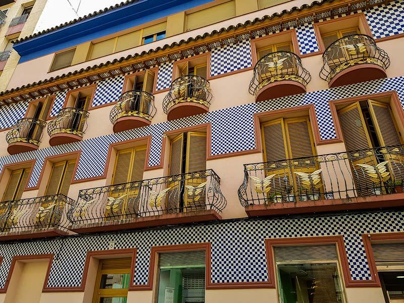Casa Modernista de Refugio 4 -6 de Zaragoza