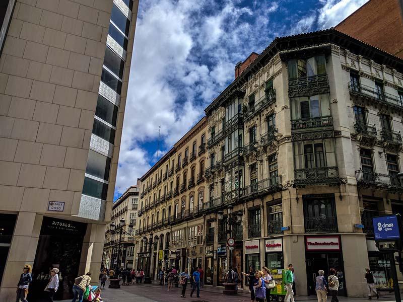 Casa Molins, Calle Alfonso I 2, Zaragoza