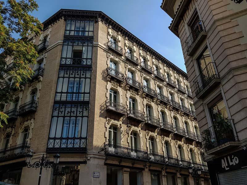 Casa Navarro Pérez - Manifestación 16 - Zaragoza
