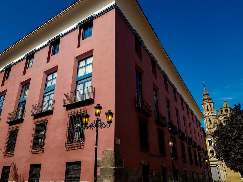 Casa natal de Palafox en Zaragoza