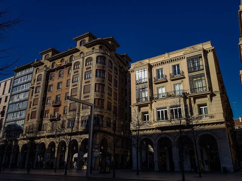 Edificios Herrero y La Peninsular de Zaragoza