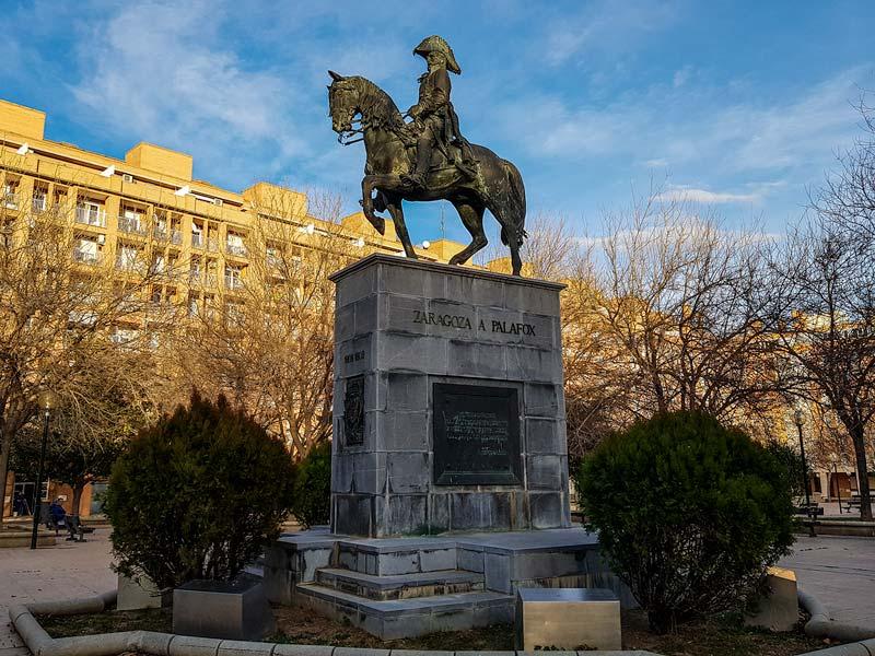 Monumento a Palafox, Zaragoza