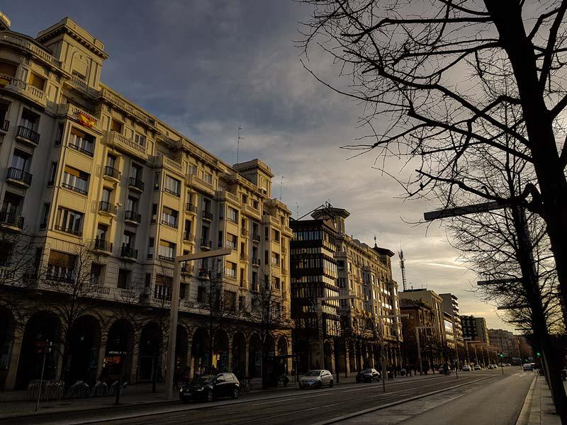 Paseo Independencia de Zaragoza