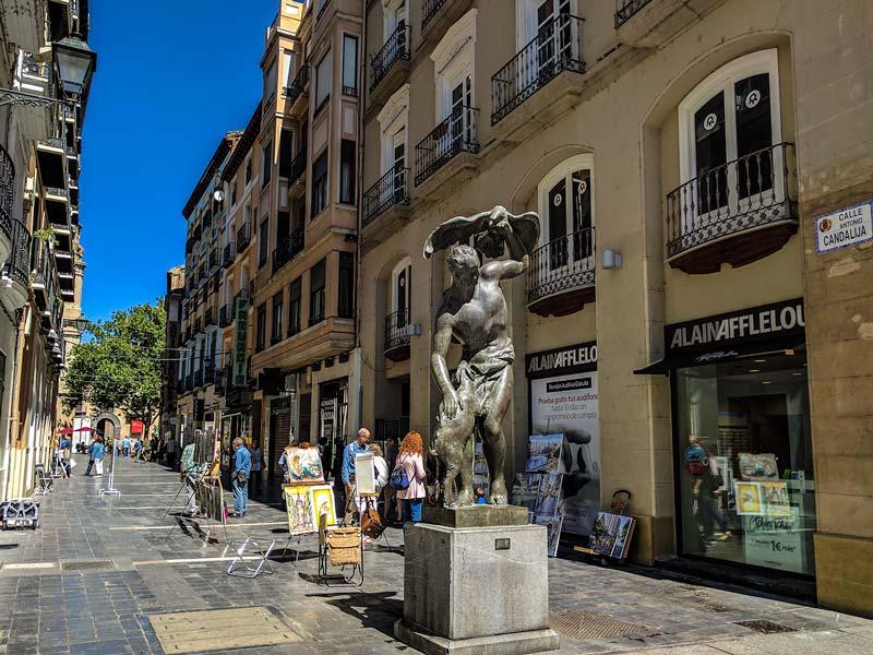 """Escultura """"el pastor del águila"""" de Pablo Gargallo"""