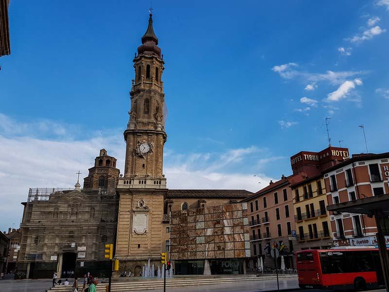 Plaza la Seo de Zaragoza