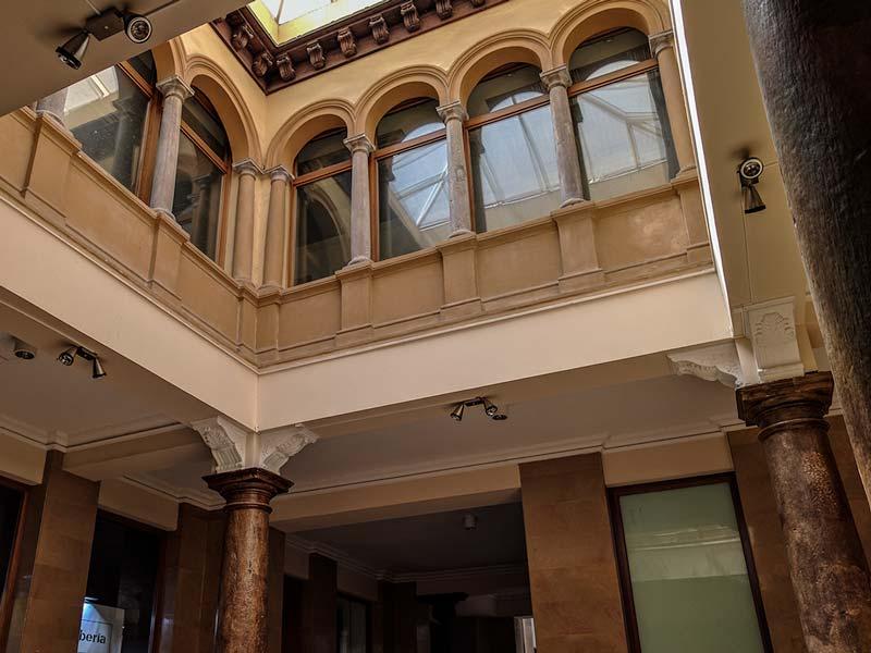 Patio Renacentista - Pasaje Giles - Zaragoza