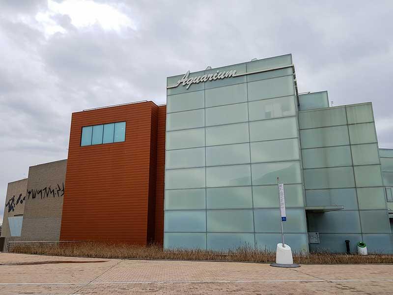 Entrada al Acuario de Zaragoza