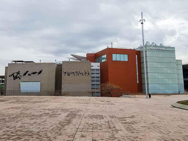 Acuario De Zaragoza Terraza