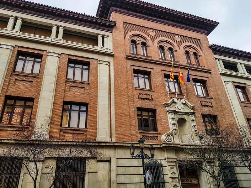 Antiguo Colegio Maristas - Calle San Vicente de Paúl 13, 15 - Zaragoza
