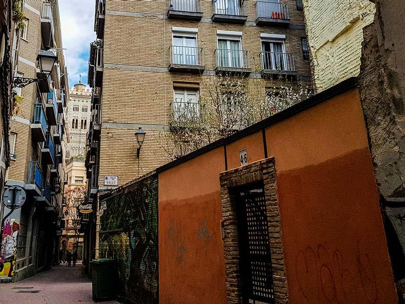 Calle Estudios - Zaragoza