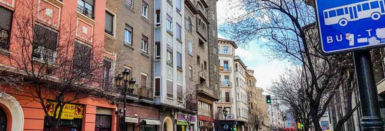 Calle San Vicente de Paúl de Zaragoza