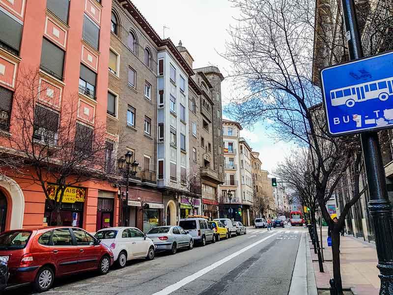 Calle San Vicente de Paúl - Zaragoza