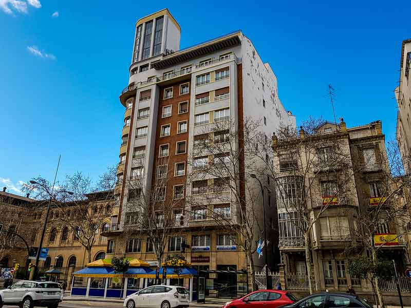 Casa Marquesa de la Granja - Paseo Pamplona 3 - Zaragoza