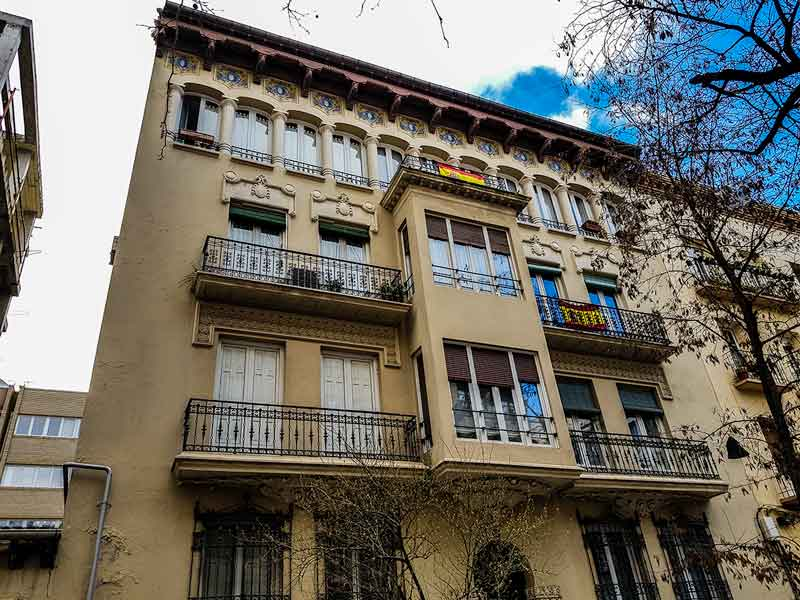 Casa Palomar - Almagro 5 - Zaragoza