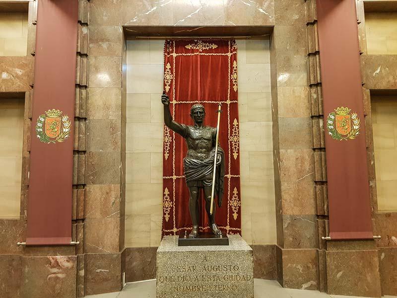 El fundador de la ciudad - Cesar Augusto - Ayuntamiento de Zaragoza