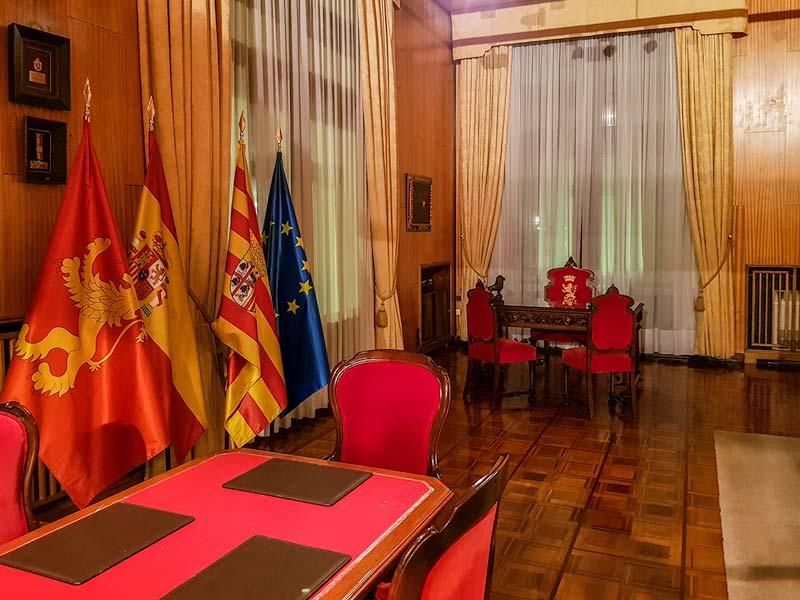 Despacho del alcalde del Ayuntamiento de Zaragoza