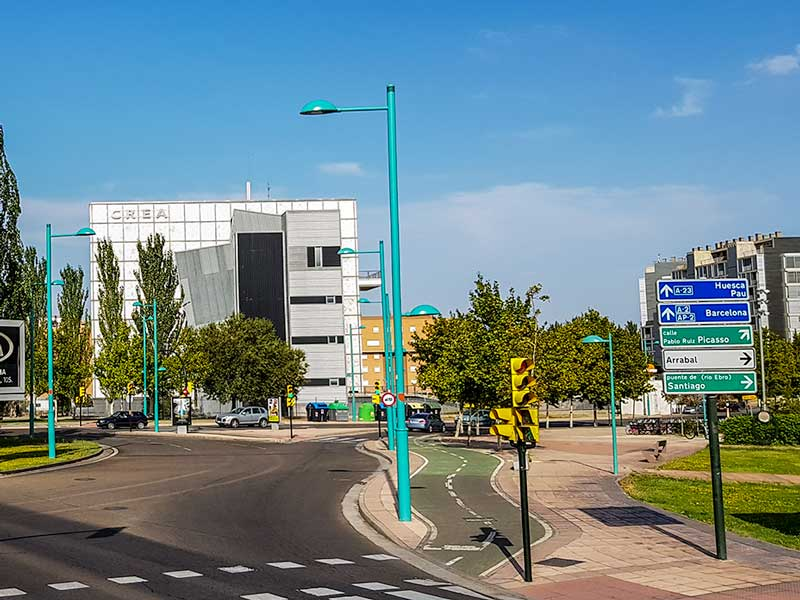 Edificio CREA - Zaragoza