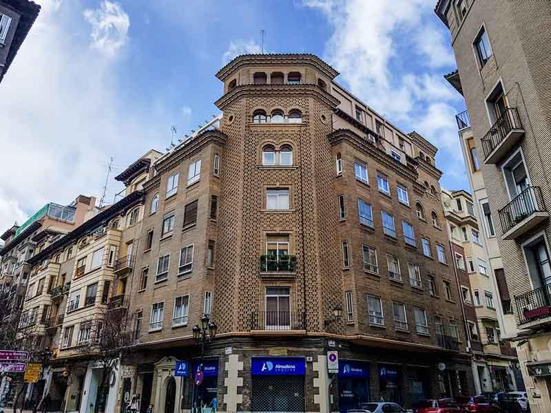 Edificio Roche Naval - Calle San Vicente de Paúl 5 - Zaragoza