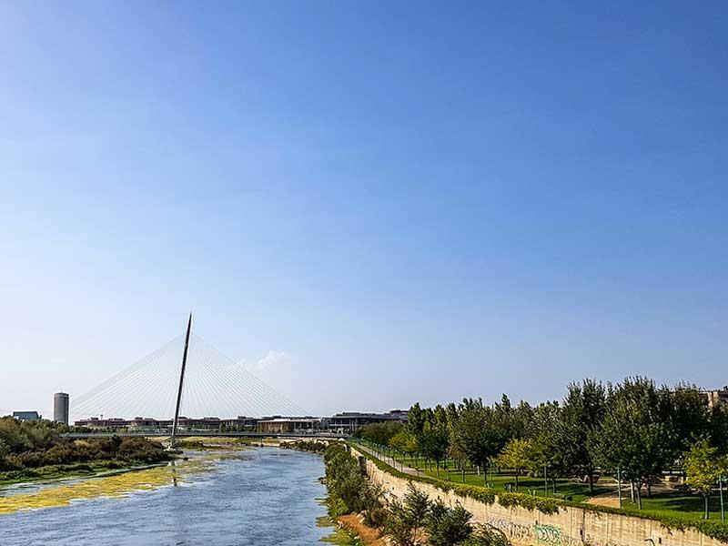 Expo desde el río Ebro - Zaragoza