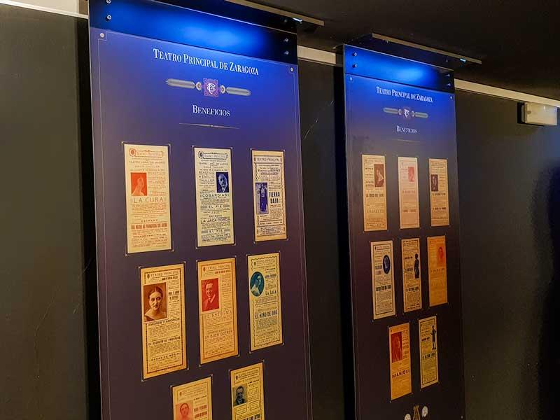 Carteles de la Exposición del Teatro Principal - Zaragoza