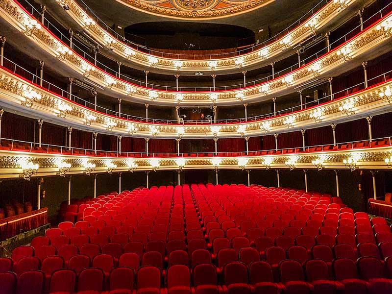 Patio de butacas del Teatro Principal - Zaragoza