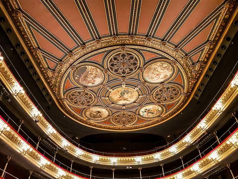 Techo del Patio de Butacas - Teatro Principal - Zaragoza