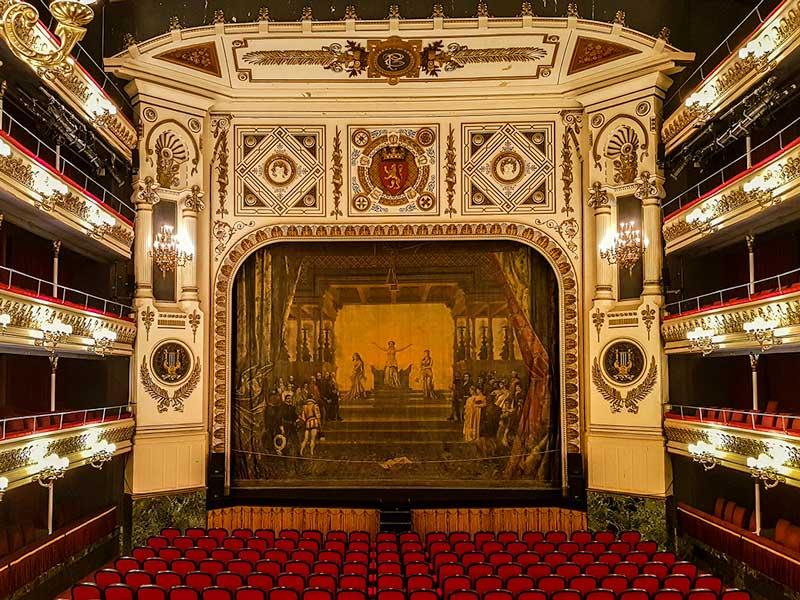 Telón del Teatro Principal - Zaragoza