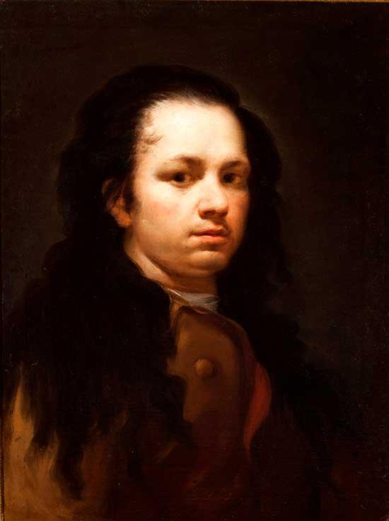 Autorretrato de Goya - Museo Goya de Zaragoza