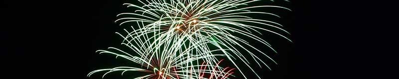 Fuegos artificiales de Pilar 2018