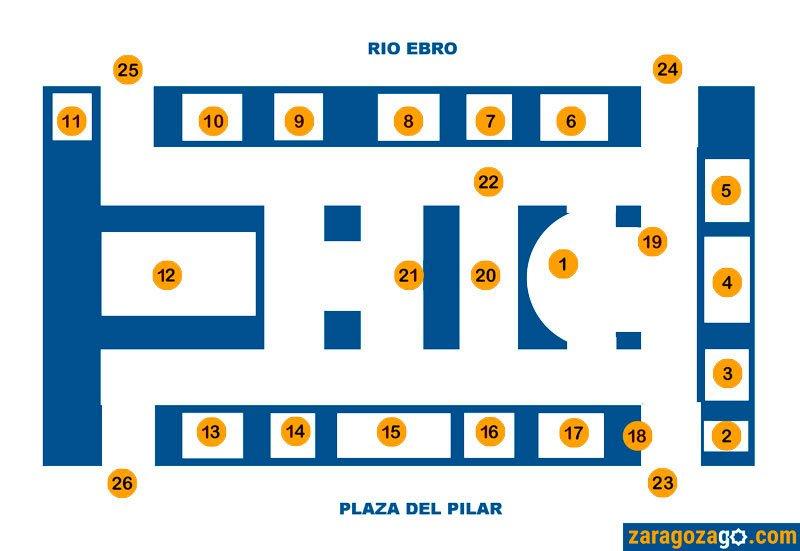 Mapa de la Basílica