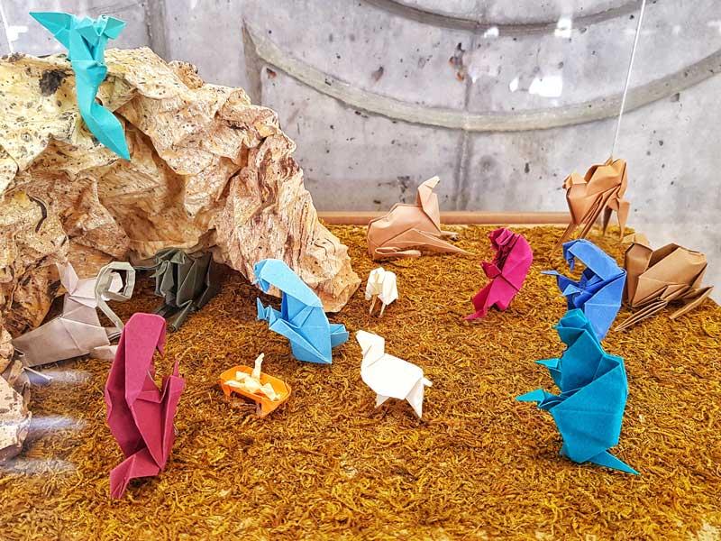 Belén Museo Origami