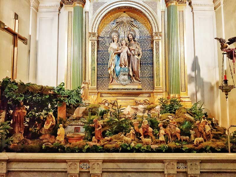 Belén de la Iglesia de Santa Engracia de Zaragoza