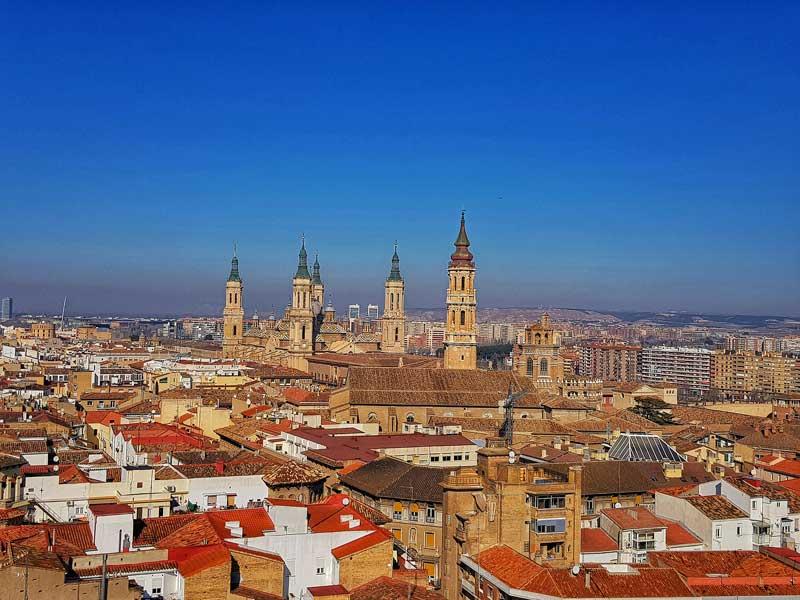 Vistas desde la torre de la iglesia de la Magdalena