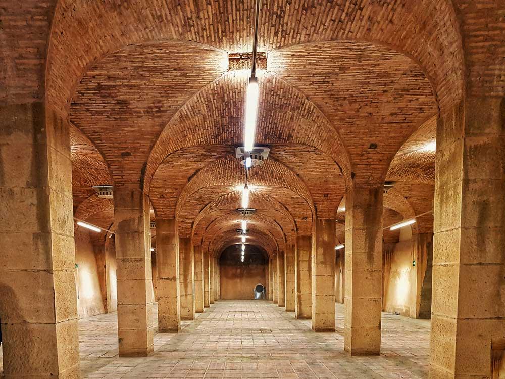 Antiguos depósitos de Agua de Zaragoza