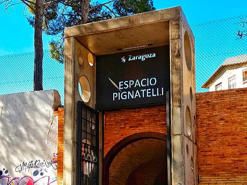 Entrada al Espacio Pignatelli