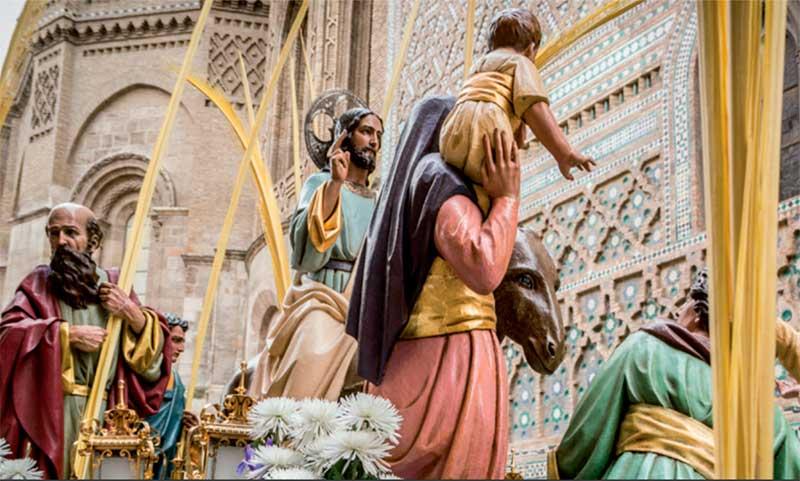 Procesiones Domingo de Ramos en Zaragoza