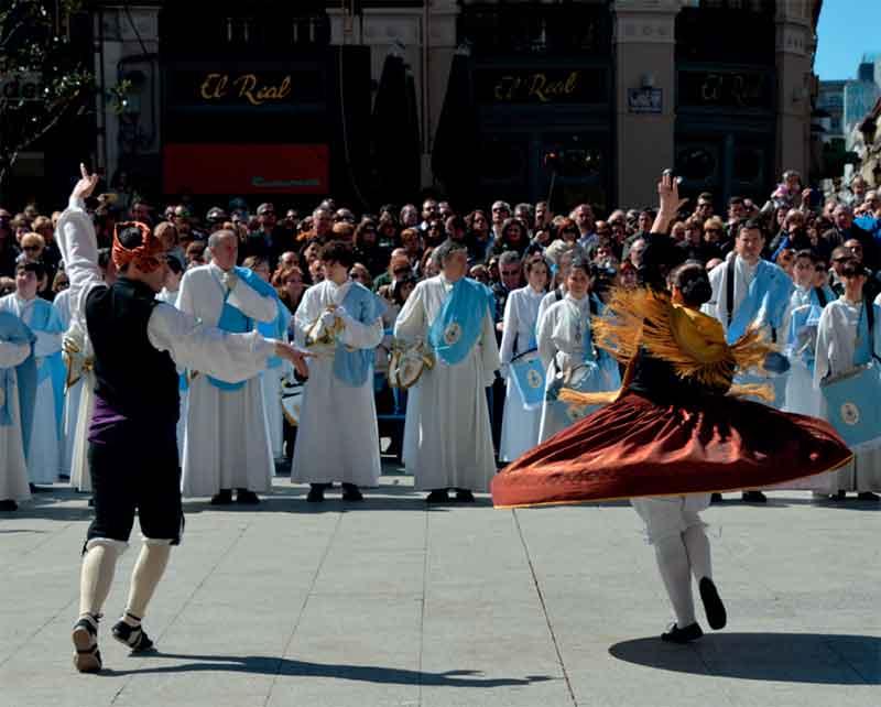 Procesiones Domingo de Resurrección en Zaragoza