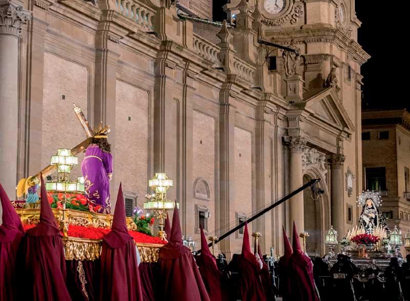 Procesiones Miércoles Santo en Zaragoza