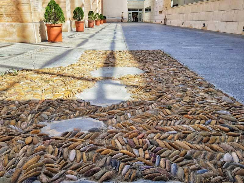 Antiguo pavimento de Zaragoza