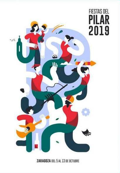 Fiestas del Pilar de Zaragoza 2019